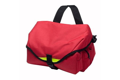Frontier Medical Red Medical Waist Bag Closed.jpg